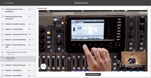 Masterclass Screenshot