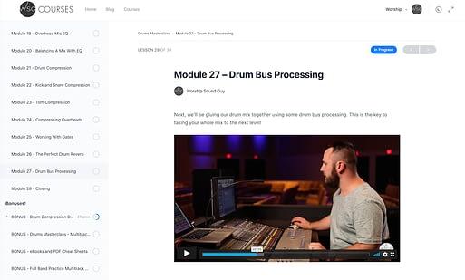 Drums Masterclass - Drum Bus Compression